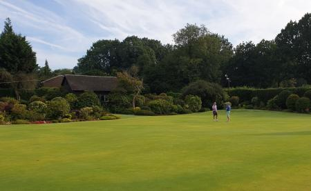 Walton Heath putting green