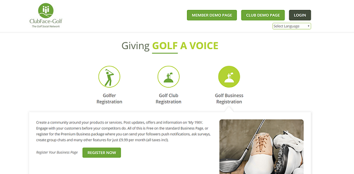 ClubFace-golf offers support to PGA Pros