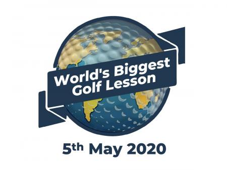 World's biggest golf lesson