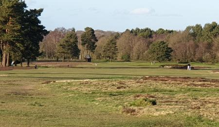 Walton Heath course