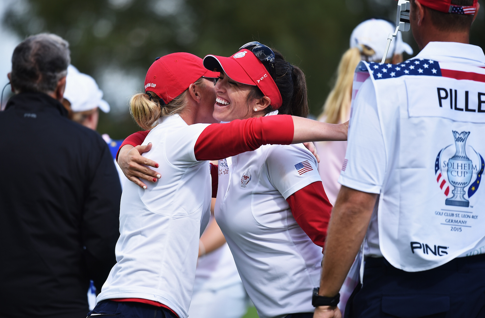 Solheim Day 2 Wrap + pics + video