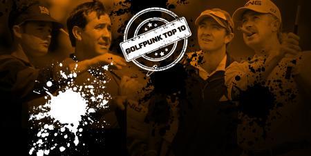 Top 10 Golf Spats