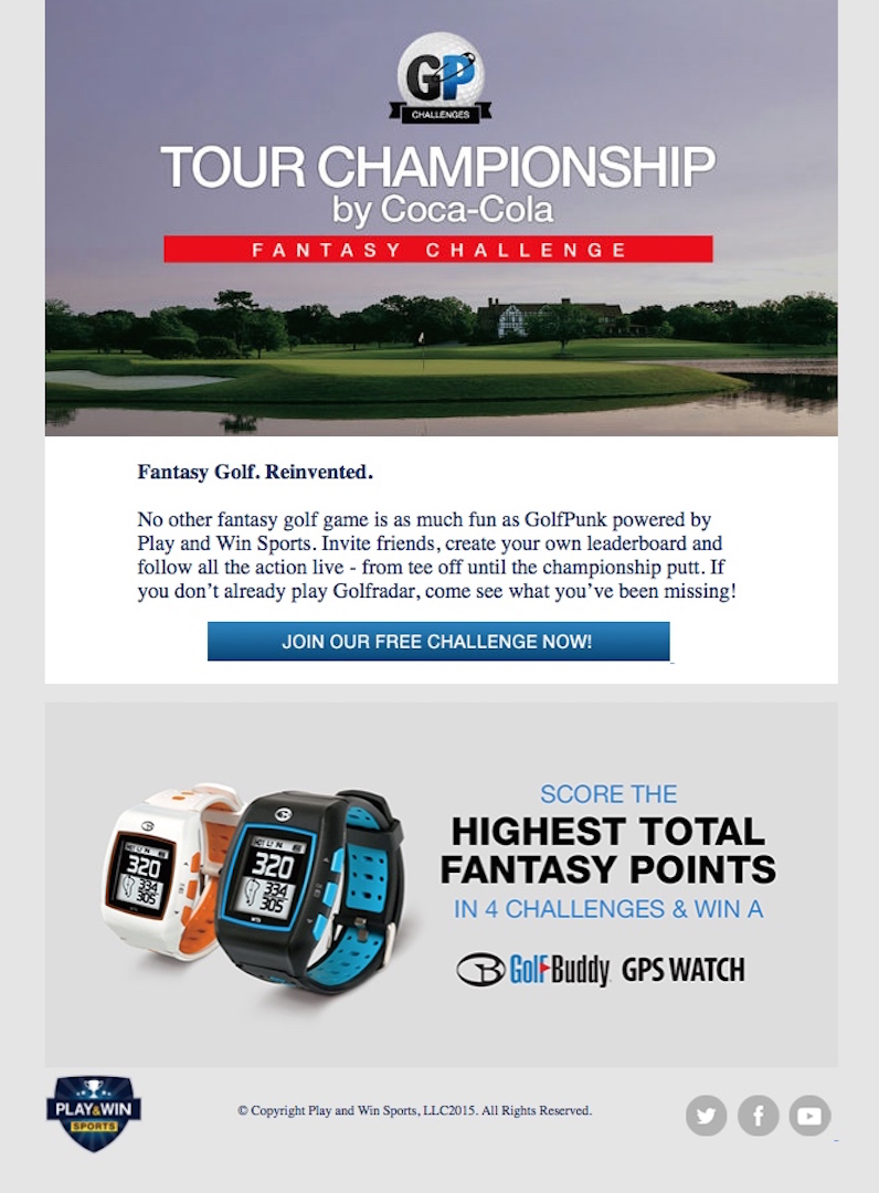 Tour Championship Fantasy Challenge