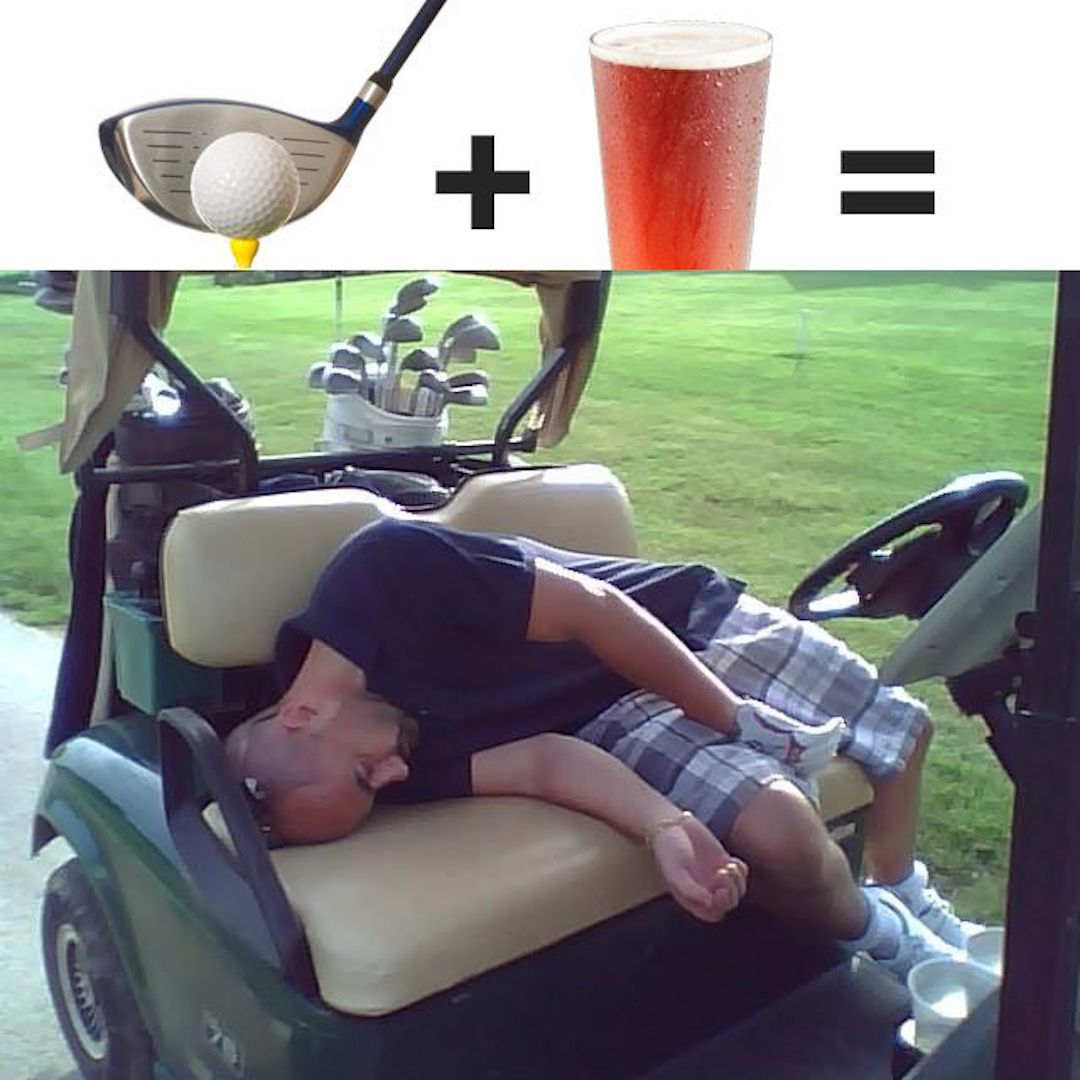 Golf Buggy drink drivers captured