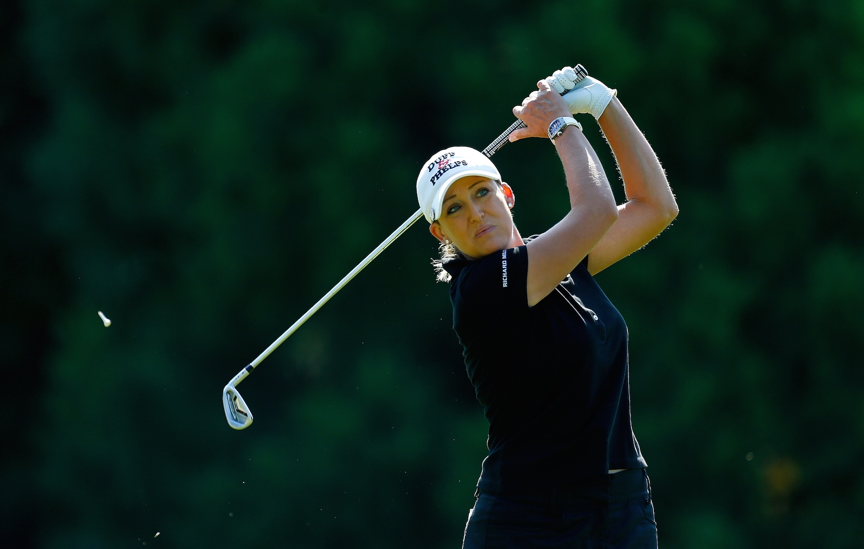 Pedersen leads, Cristie Kerr Goes Low, GolfPunks going well...