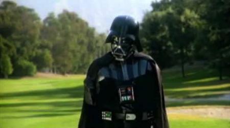 Darth Vader Plays Golf!
