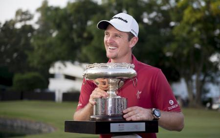 Justin Rose slips in to win Hong kong Open