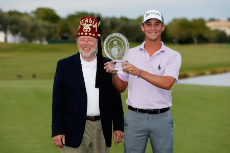 Smylie Faces as Kaufman wins Shriners