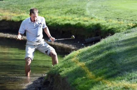 Golf Fail Friday - Peter Malnati's Water Hazard