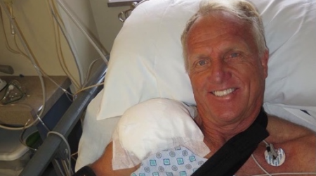 Norman Undergoes Shoulder Surgery