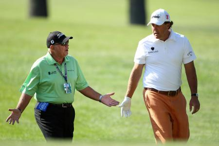 Phil Mickelson Dumps Butch Harmon